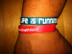 triathlon: life is running