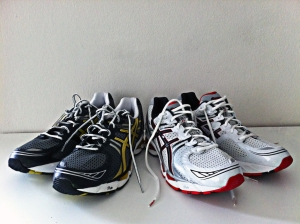 New running shoe sets
