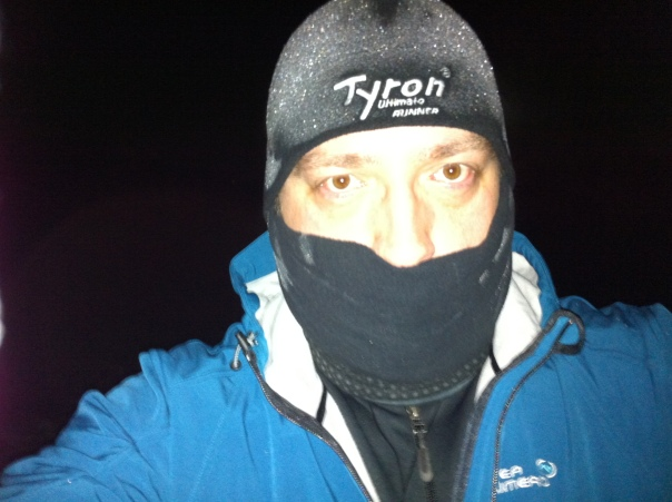TriAddict in the cold
